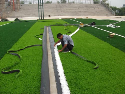 草坪是如何整改的?