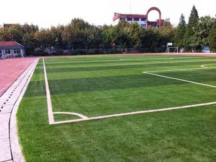 足球场人造草坪的施工流程