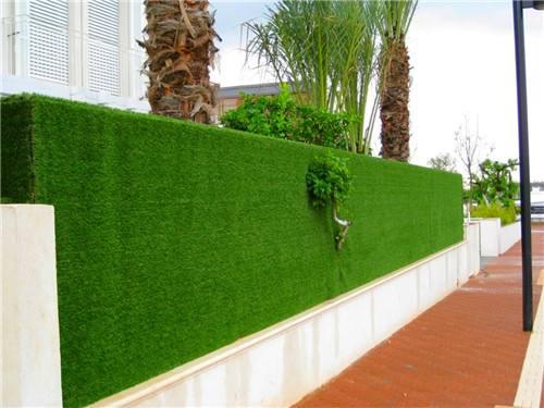 人造草坪墙