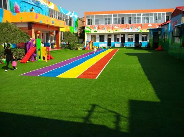彩色人造草坪